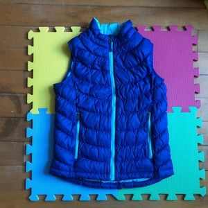 L.L. Bean Kid's Down Vest M 10-12